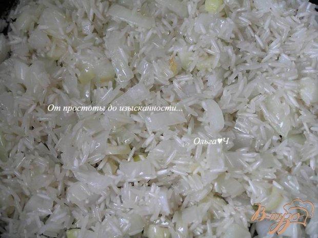 Рис басмати с маслинами и кунжутом