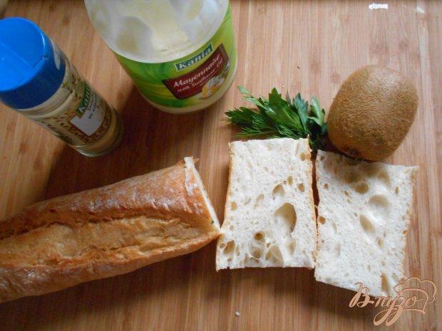 Рецепт Бутерброды с киви