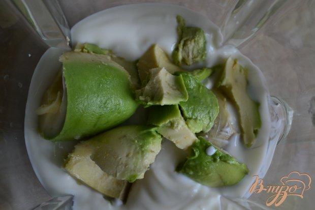 Смузи с авокадо и черешней