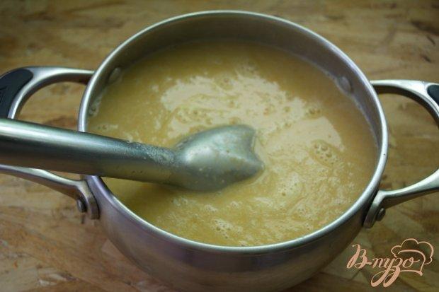 Суп с рыбными консервами и сливками