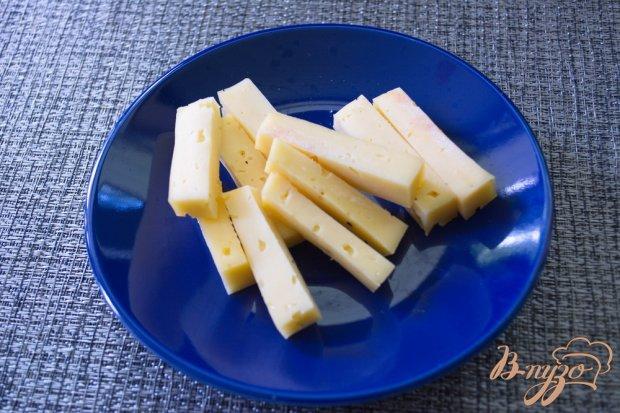 Твердый сыр в пивном кляре на закуску