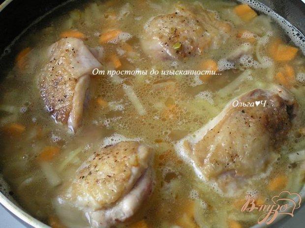 Плов из коричневого риса с курицей