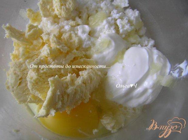 Рецепт Творожные кексы с кокосовой стружкой