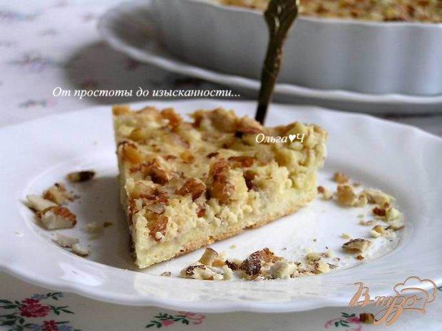 Творожно-ореховый тарт