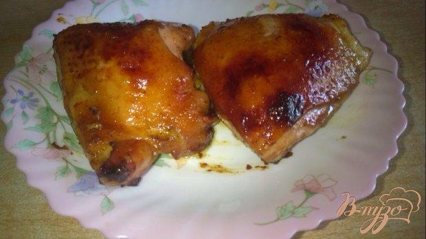 Бедро куриное в соевом соусе