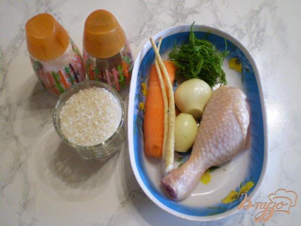 Рецепт Рисовый суп без картофеля