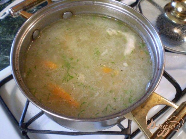 Рисовый суп без картофеля