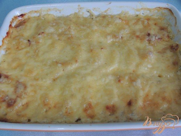 Картофель с курицей в сливках