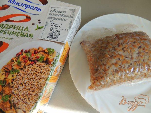 Рецепт Весенний салат с гречкой и грибами
