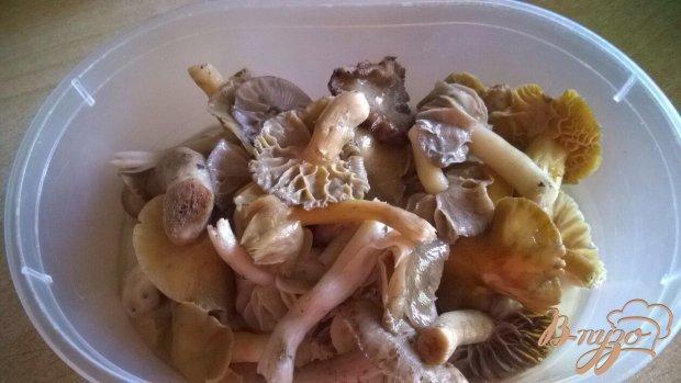 Борщ с лесными грибами