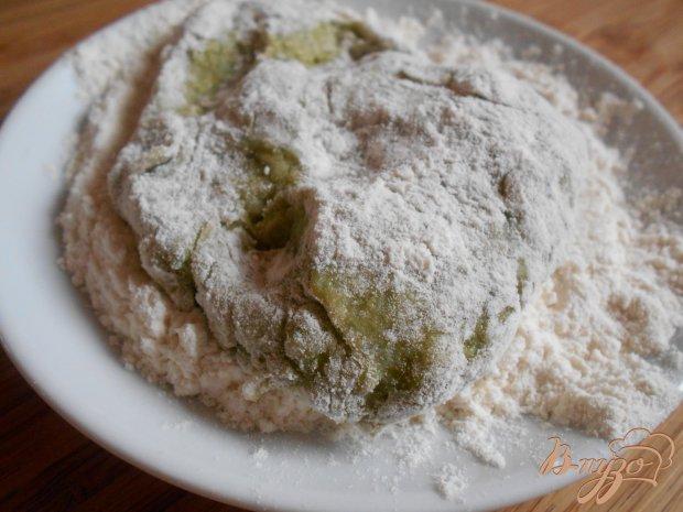 Пирог с сосисками на картофельном тесте