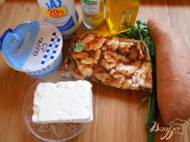 Рецепт Закуска из сыра феты на батате