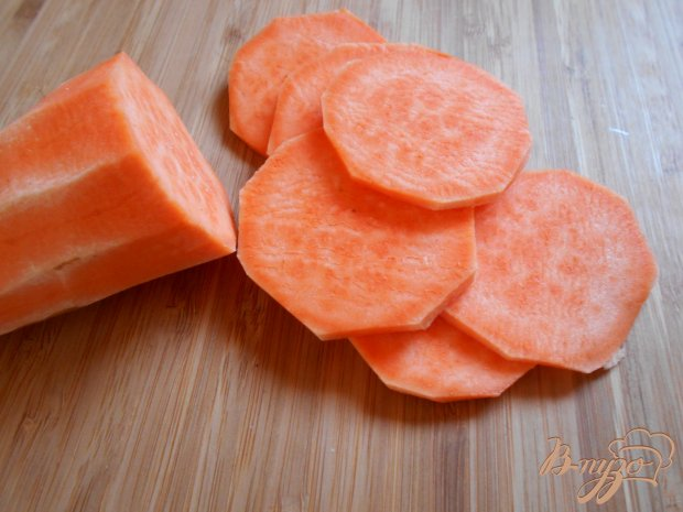 Закуска из сыра феты на батате