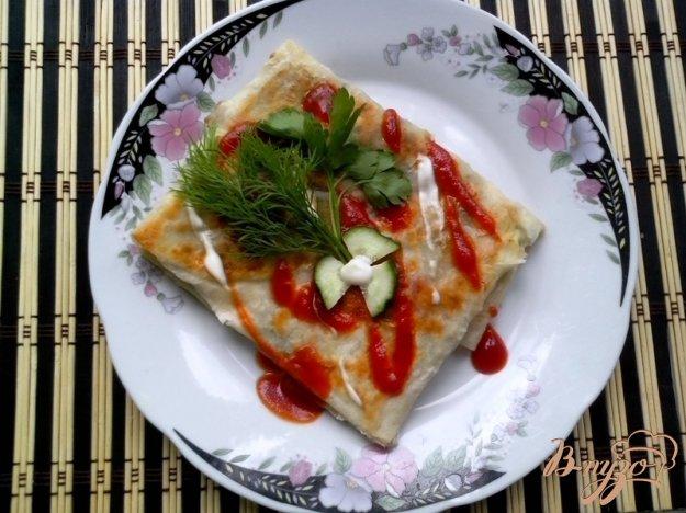Закуски из лаваша жареные рецепты пошагово