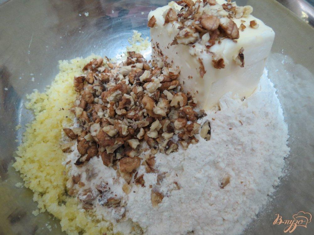 Фото приготовление рецепта: Песочное печенье капельки шаг №5