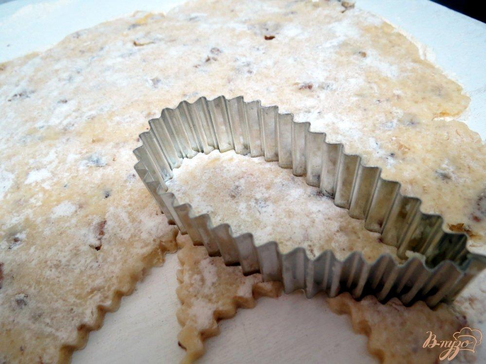 Фото приготовление рецепта: Песочное печенье капельки шаг №8