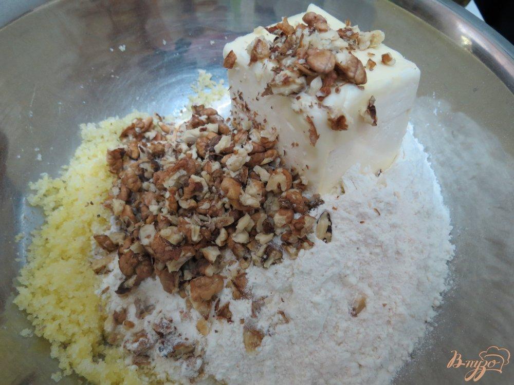 Фото приготовление рецепта: Песочное печенье капельки шаг №4