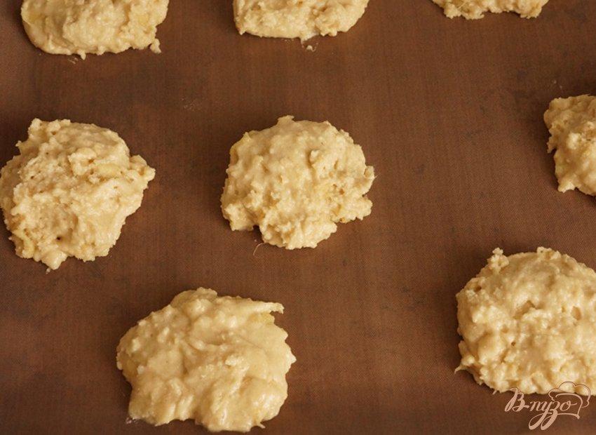 Фото приготовление рецепта: Печенье из рисовой муки с имбирем шаг №7