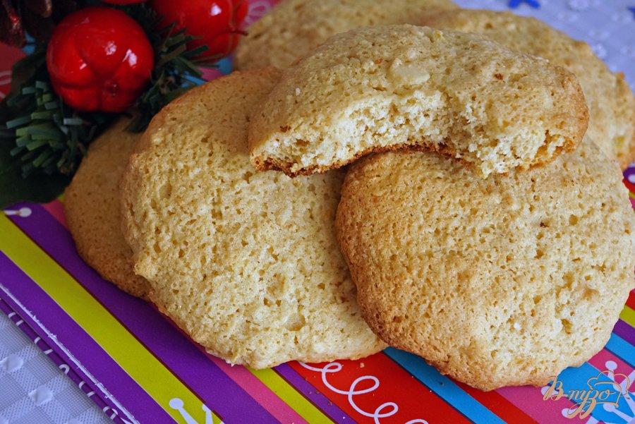 Фото приготовление рецепта: Печенье из рисовой муки с имбирем шаг №8