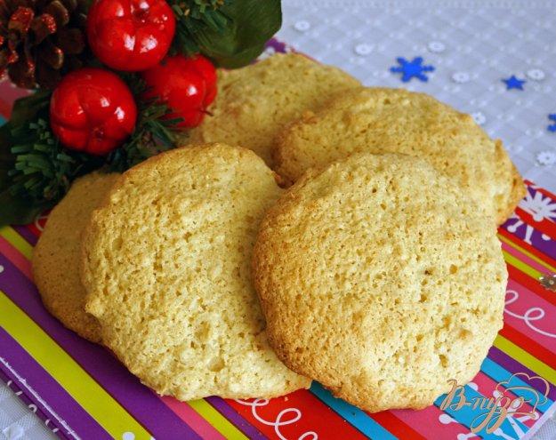 фото рецепта: Печенье из рисовой муки с имбирем