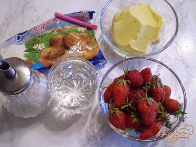Фото приготовление рецепта: Соус из ягод клубники шаг №1