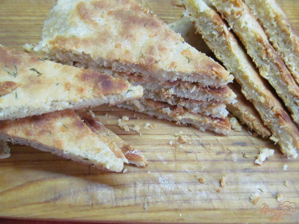 Фото приготовление рецепта: Блиц-рецепт Хачапури шаг №6
