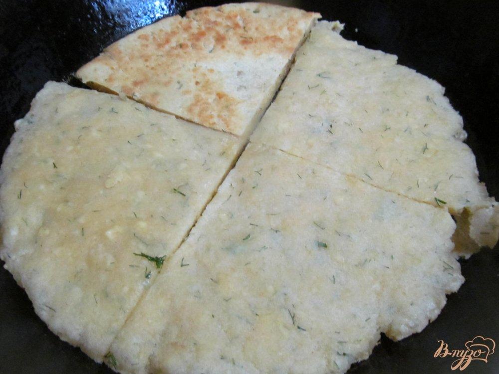 Фото приготовление рецепта: Блиц-рецепт Хачапури шаг №5