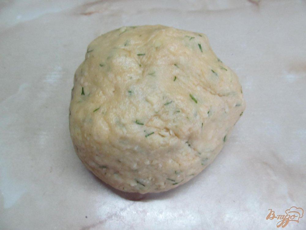 Фото приготовление рецепта: Блиц-рецепт Хачапури шаг №3
