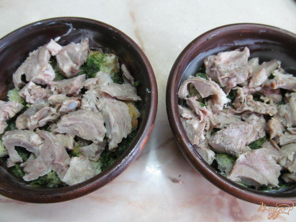 Фото приготовление рецепта: Мясной гратен шаг №5