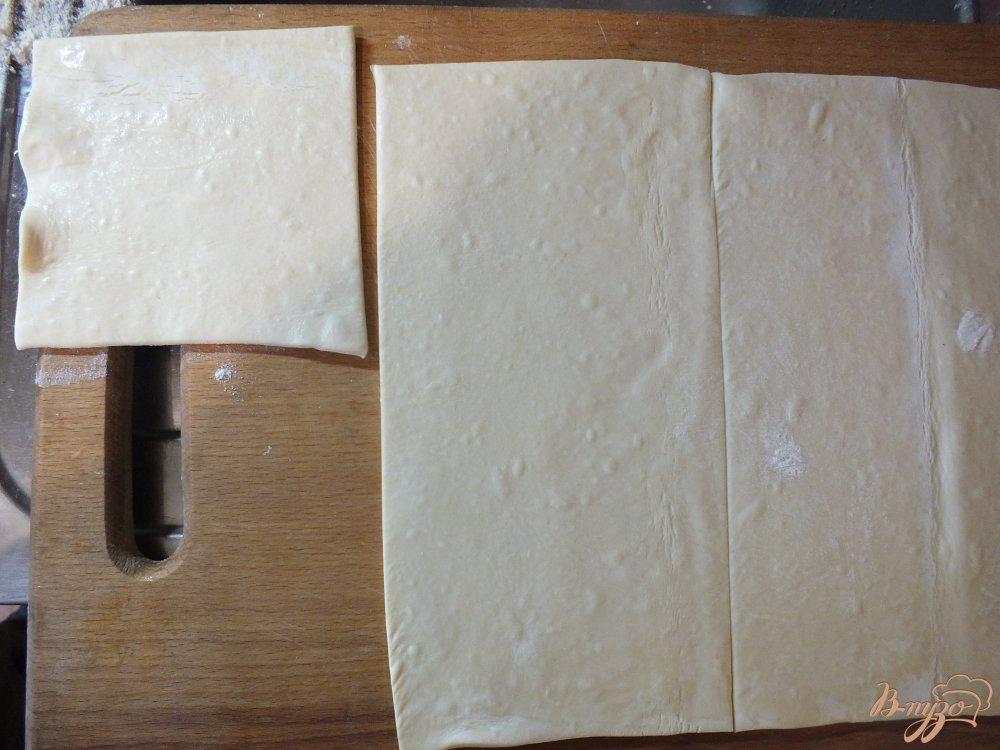 Фото приготовление рецепта: Самса из слоеного теста с говядиной шаг №2