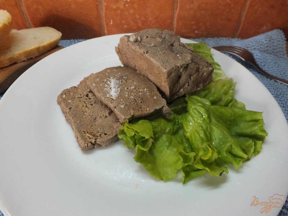 Фото приготовление рецепта: Печень отварная в травах и специях шаг №6