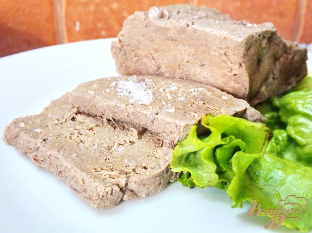 фото рецепта: Печень отварная в травах и специях