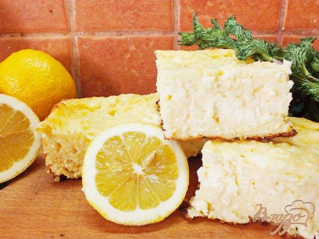 фото рецепта: Лимонная творожная запеканка