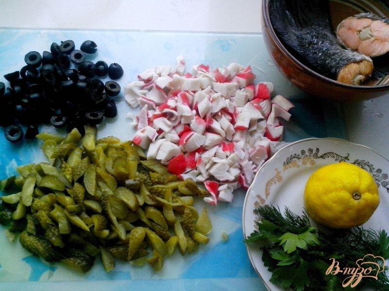 Фото приготовление рецепта: Солянка рыбная шаг №3
