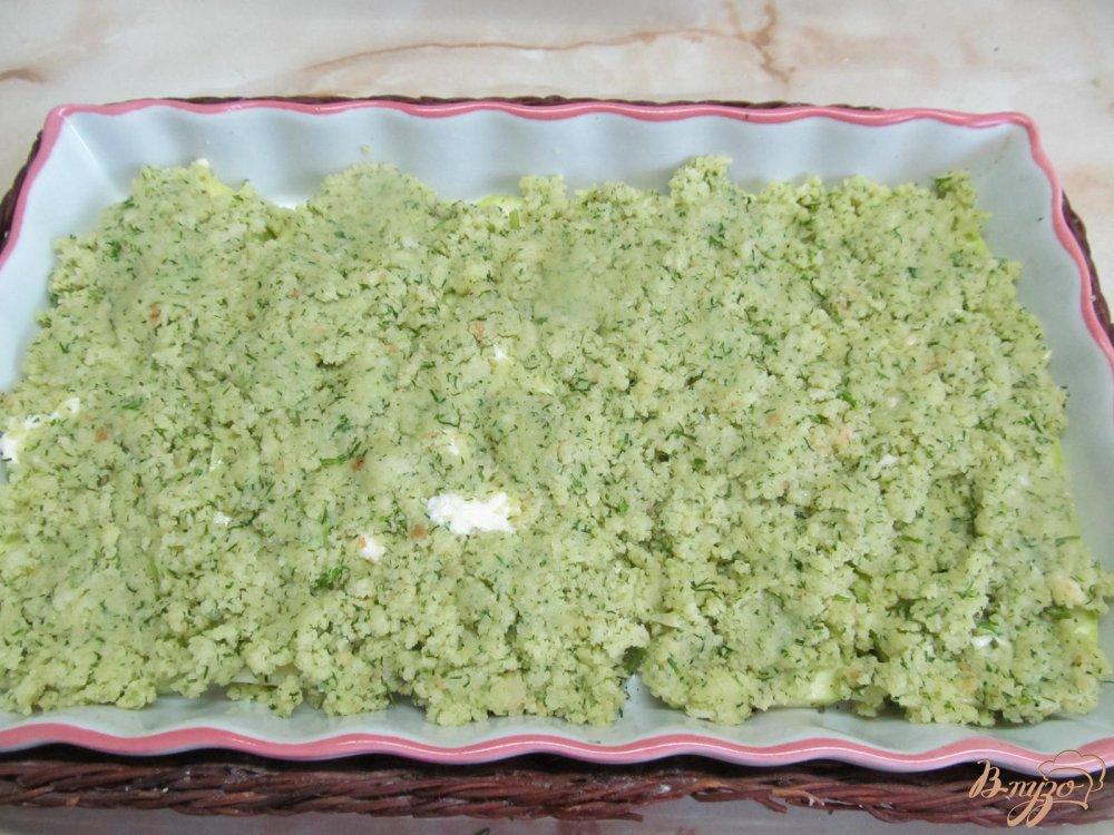 Фото приготовление рецепта: Кабачки под шубой шаг №7