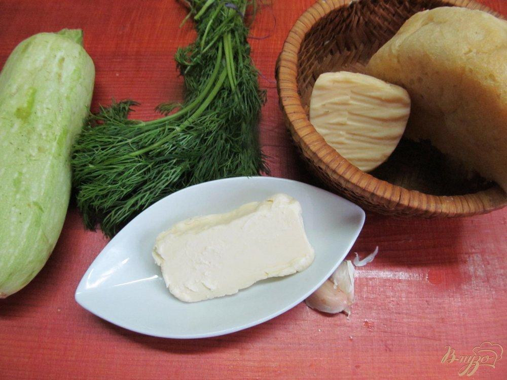 Фото приготовление рецепта: Кабачки под шубой шаг №1