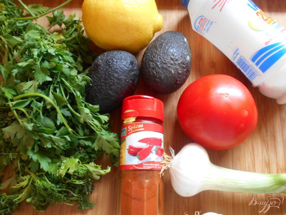 Фото приготовление рецепта: Гвакамоле шаг №1