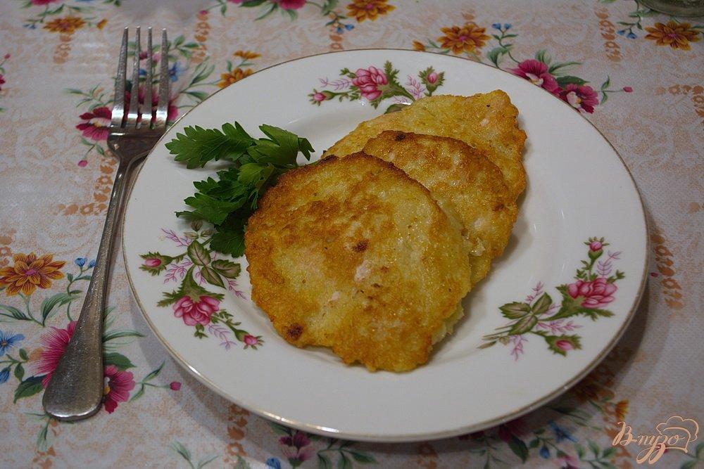 картофельные котлеты с мясным фаршем пошаговый рецепт с фото
