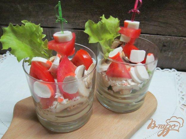 фото рецепта: Веррины с крабовыми палочками