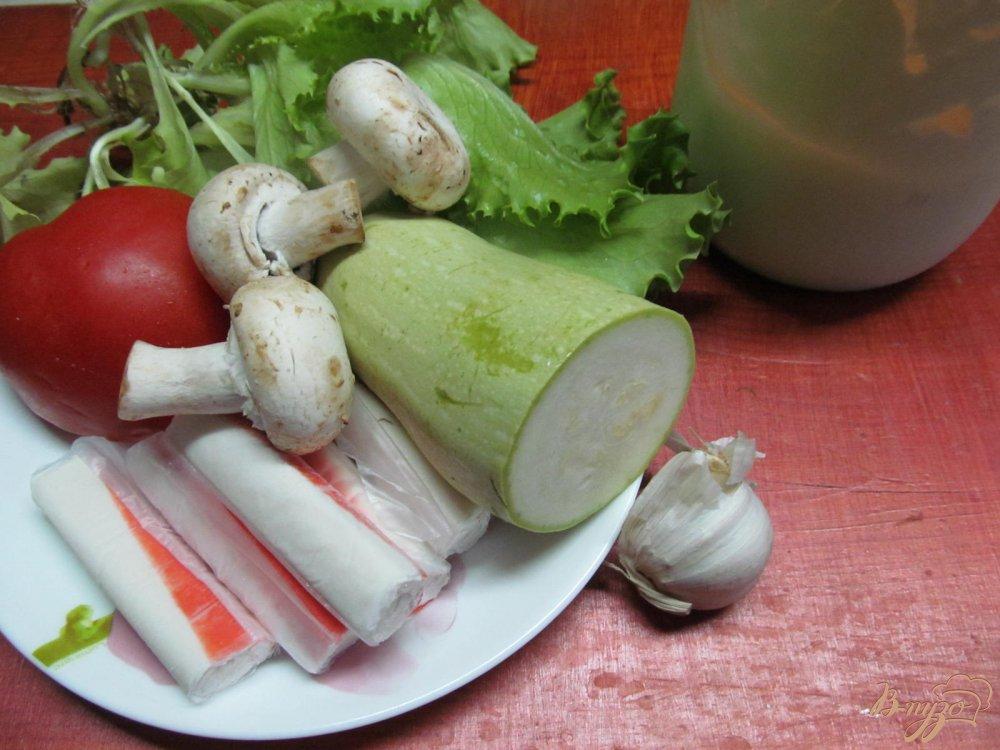 Фото приготовление рецепта: Веррины с крабовыми палочками шаг №1