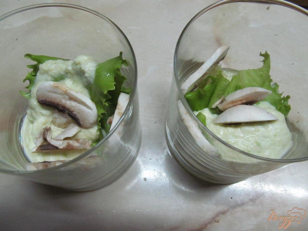 Фото приготовление рецепта: Веррины с крабовыми палочками шаг №7