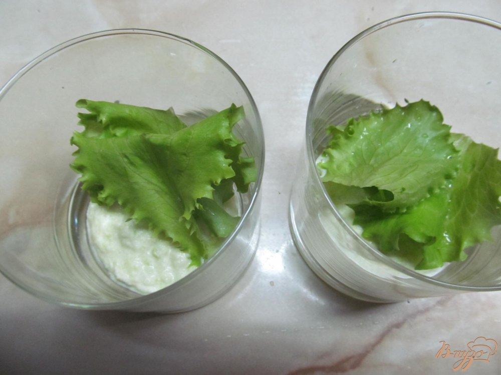 Фото приготовление рецепта: Веррины с крабовыми палочками шаг №6