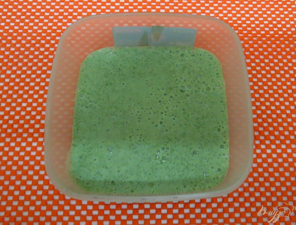 Фото приготовление рецепта: Морженое мохито шаг №8