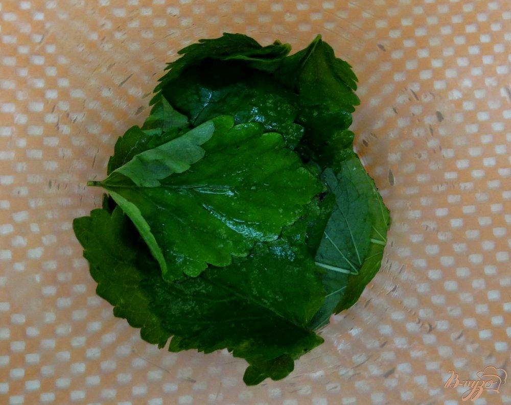 Фото приготовление рецепта: Морженое мохито шаг №4