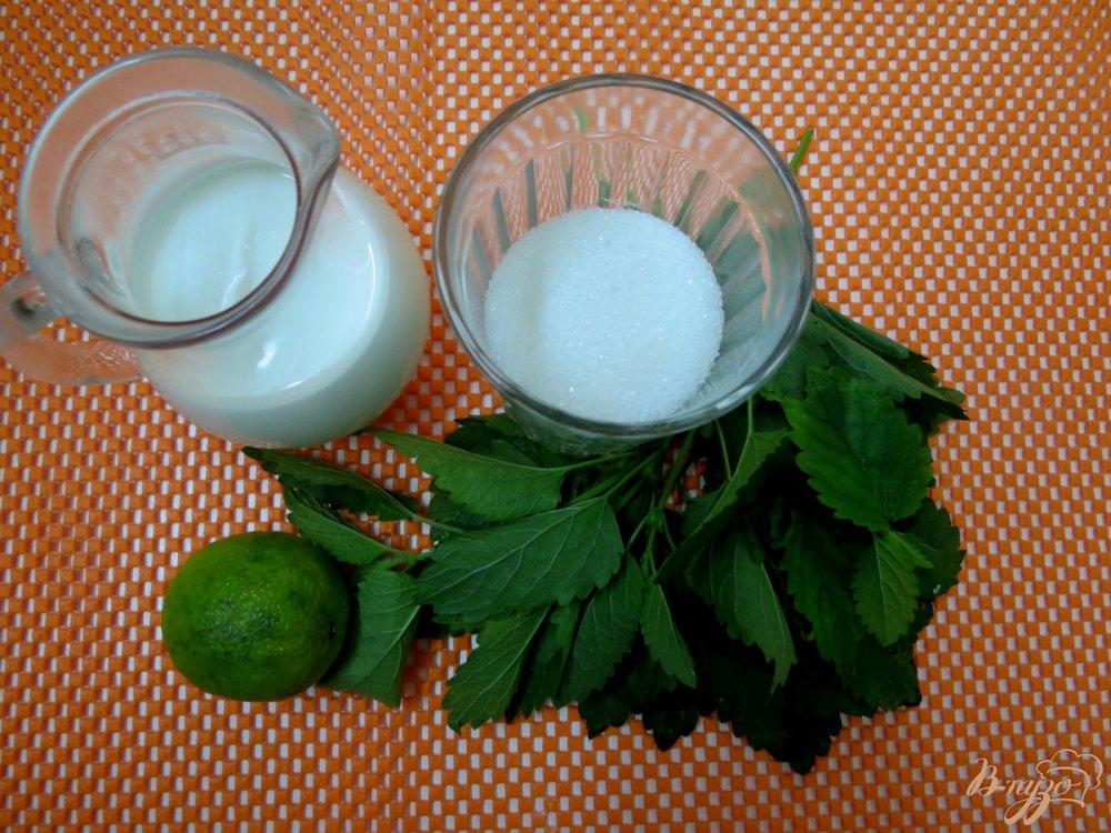 Фото приготовление рецепта: Морженое мохито шаг №1