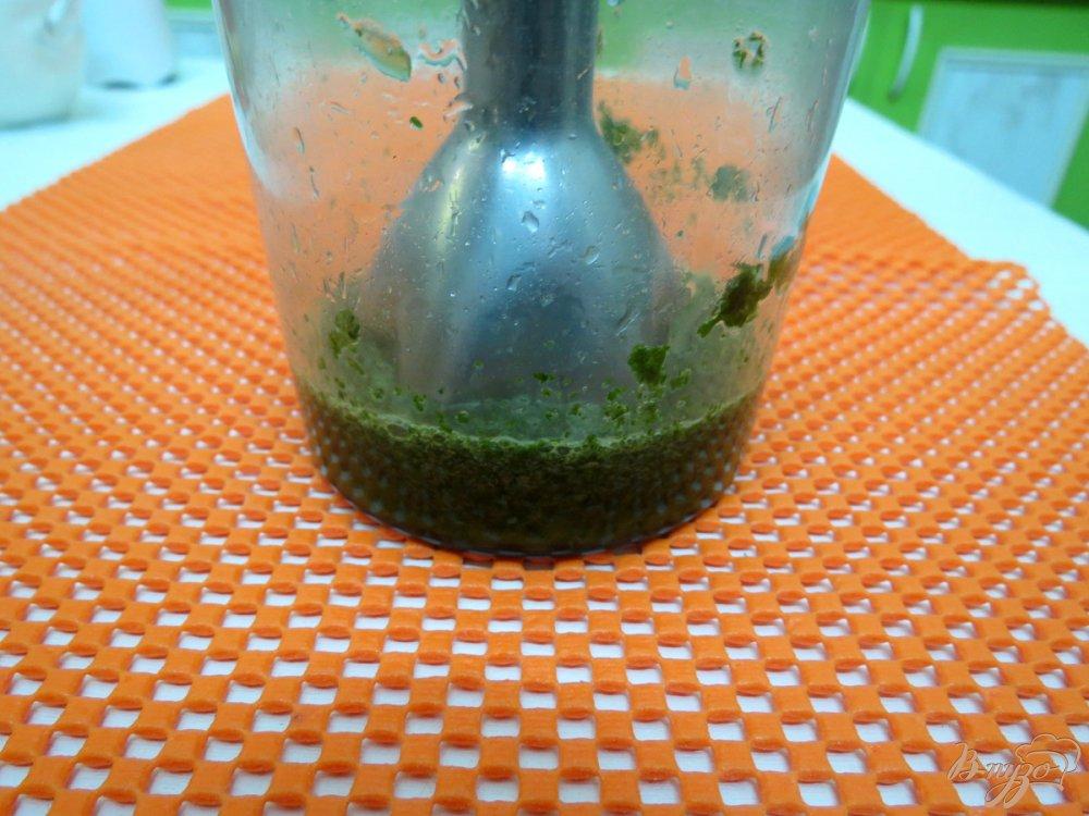 Фото приготовление рецепта: Морженое мохито шаг №7