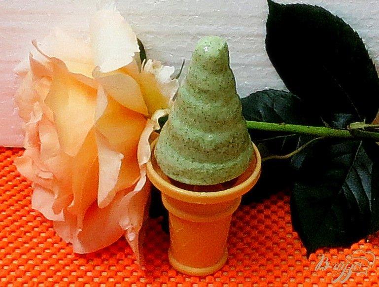 Фото приготовление рецепта: Морженое мохито шаг №9