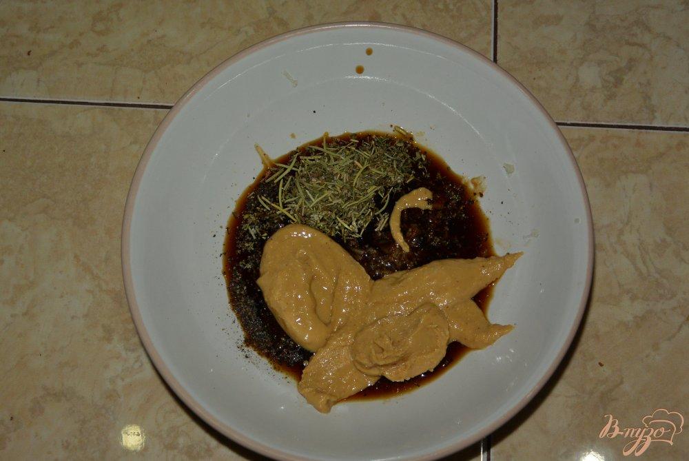 Фото приготовление рецепта: Куриное филе в арахисовом соусе шаг №5