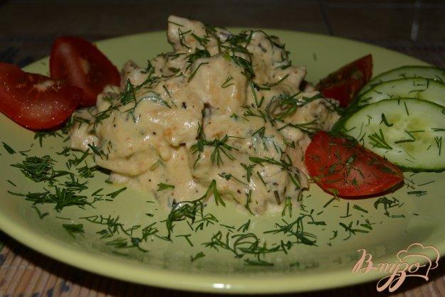 фото рецепта: Куриное филе в арахисовом соусе