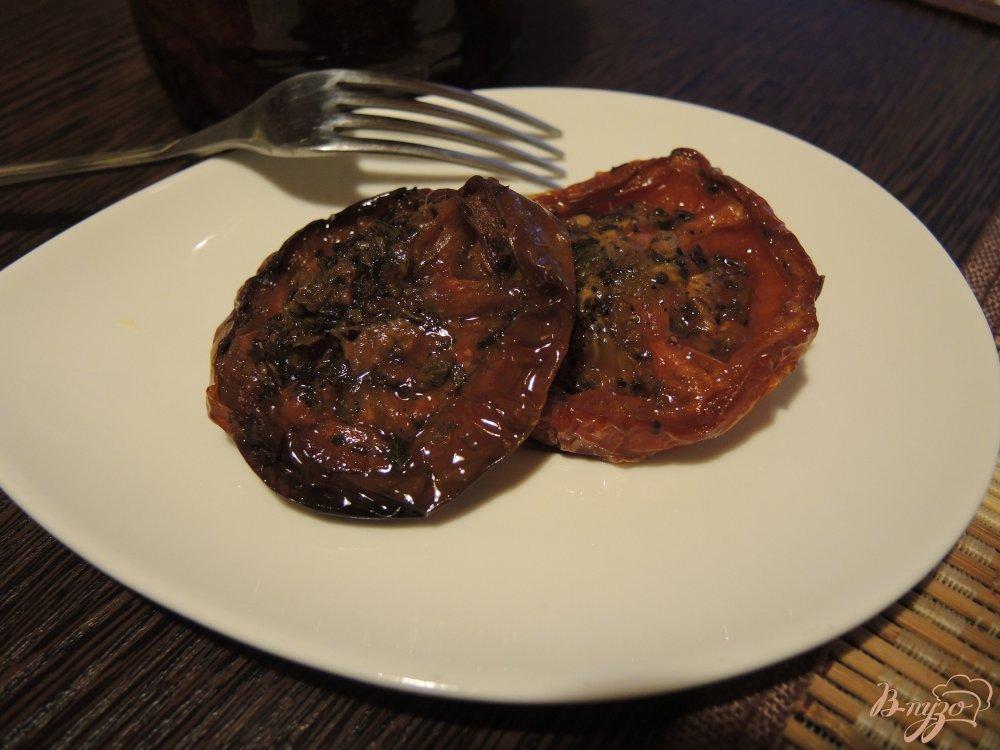 Фото приготовление рецепта: Вяленые помидоры шаг №9